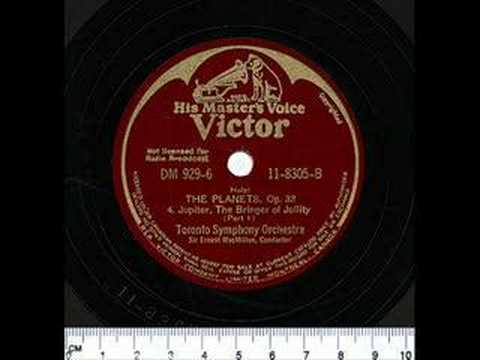 Toronto Symphony Orchestra - Jupiter, The Bringer of Jollity