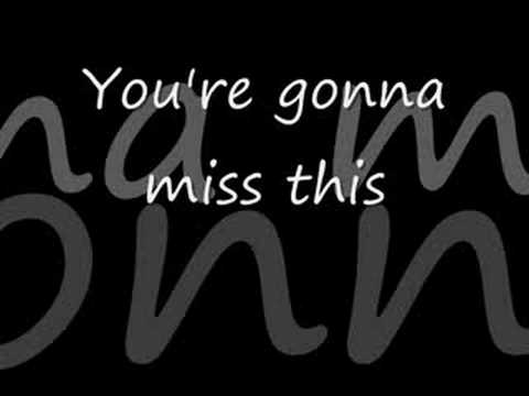 Trace Adkins - You`re gonna miss this *** with lyrics!
