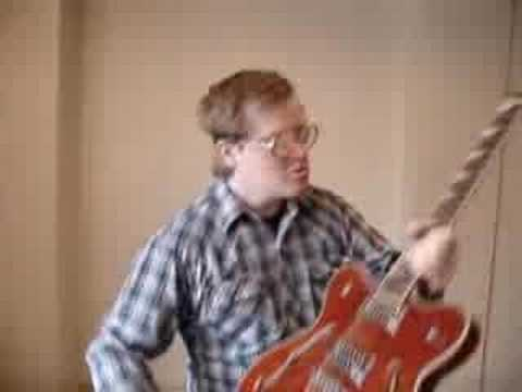 BUBBLES The Trailer Park Boys with EASTWOOD Guitar