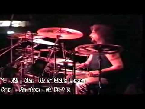 Mike Portnoy playing different covers