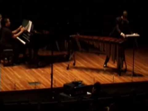 Trevor Performs Paul Creston`s Concertino for Marimba mvmt. III