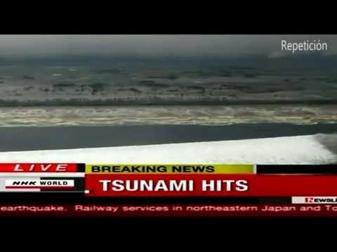 UFO / OVNI - Terremoto / Earthquake - Tsunami Japon - Marzo 2011 (HD)