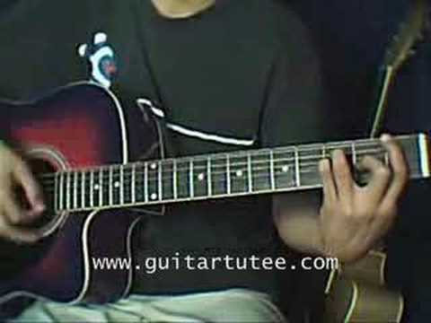 Follow Me (of Uncle Kracker, by www.guitartutee.com)