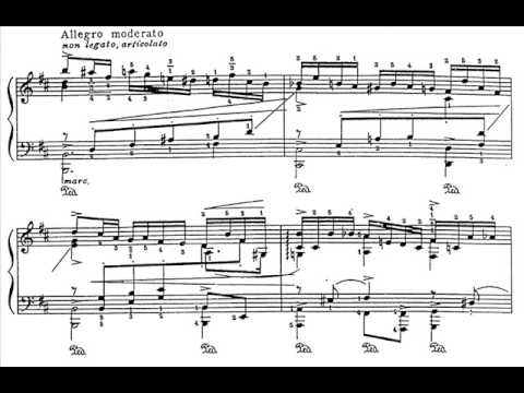 "Godowsky - Passacaglia on Schubert`s ""Unfinished"" Symphony (Part 1/2)"