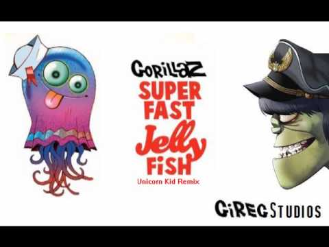 Gorillaz - Superfast Jellyfish (Unicorn Kid Remix)