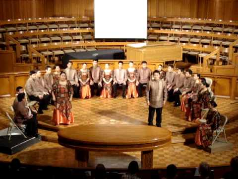 "Philippine Madrigal Singers, ""One Friend"" (Dan Seals, arr C. Borela)"