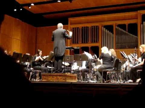 FSU Symphonic Band - Hindemith`s Symphony in B-flat - Mvt. 1