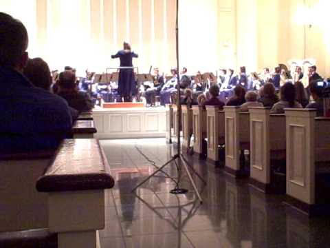 DePaul Wind Symphony - Variations on America by Charles Ives