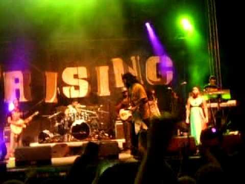 Alborosie Uprising reggae festival 2010 Zlate piesky