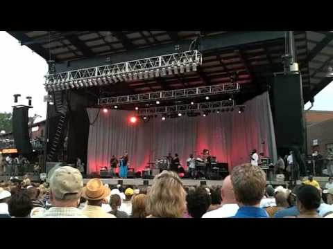 Maysa at the Uptown Charlotte Jazz Fest - June 26, 2010