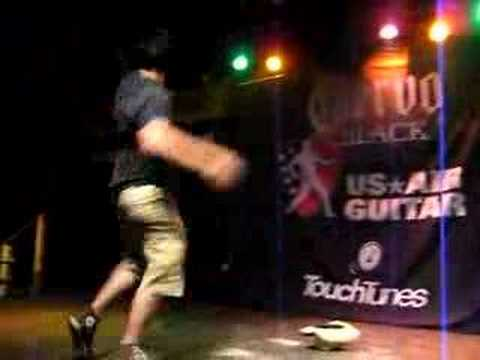 US Air Guitar 2008: This Guy Says He`s Not On Drugs