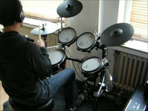 Santa Monica - Drum Cover (Theory Of A Dead Man)
