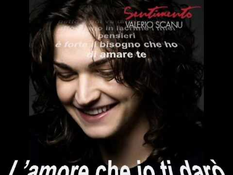 Valerio Scanu - Sentimento (registrata in studio) HQ