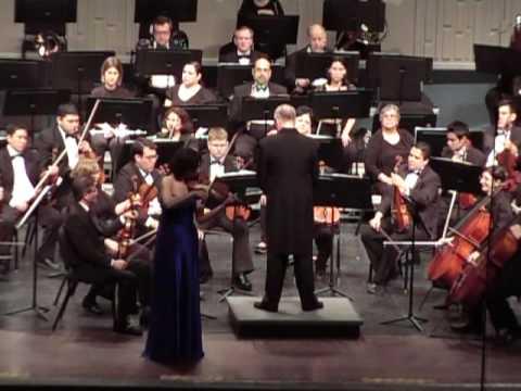Diana Seitz - Paganini Violin Concerto No. 1 - Cadenza (1st mvt.)