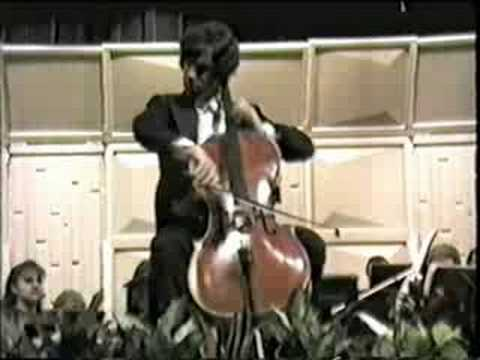 Claudio Jaffe - Cadenza for Cello Concerto No. 2 - Hector Villa-Loboz