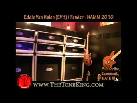 Eddie Van Halen EVH / Fender - NAMM 2010 10 TTK Coverage