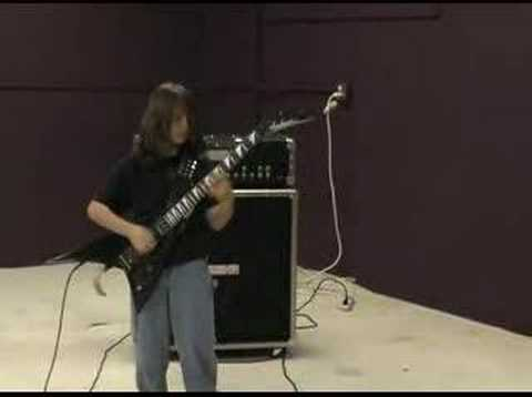 Ten year old plays eruption(Eddie Van Halen)