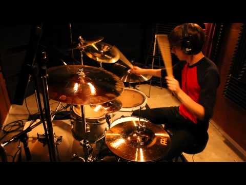 Luke Holland - Veil of Maya - Its Not Safe to Swim Today - Drum Cover