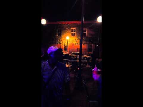Verona Red - Brad`s Motown Duet with Homeless Guy in Champaign, IL