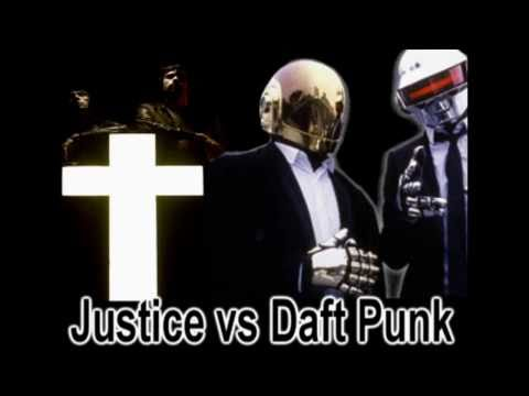 Justice vs Daft Punk -- Technosis (HD)