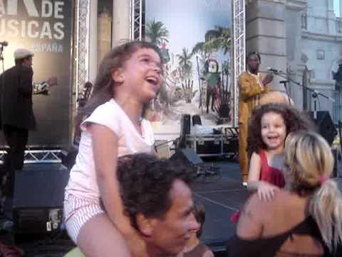 �xtasis infantil con Victor D�m� en La Mar de M�sicas 2009