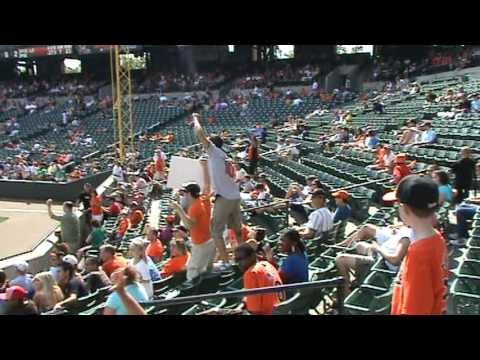 Village People / YMCA Song at Oriole Park
