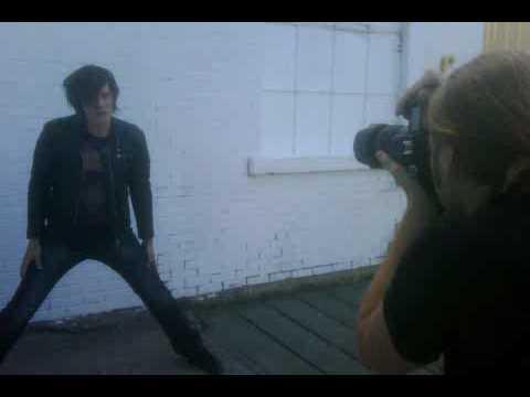 Violent Kin album photo shoot