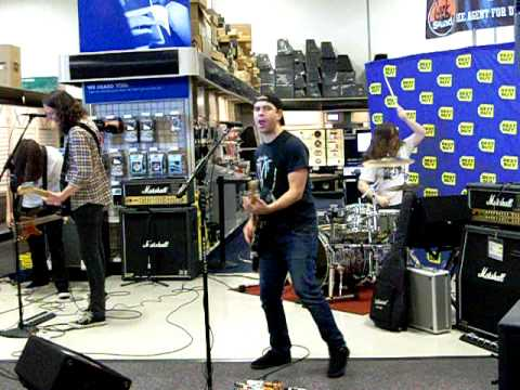 "Violent Soho ""Jesus Stole my Girlfriend"" Live at Best Buy March 13, 2010"