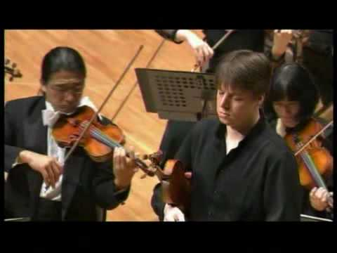 Joshua Bell plays Beethoven (1/5)