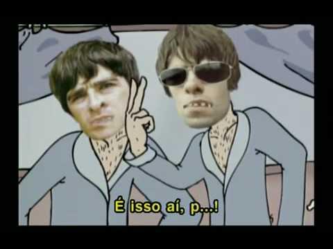 Brigas do Oasis viram piada (Canal Multishow)