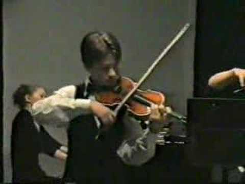 Violin Young Virtuoso Tymur Melnyk Vivaldi Duo