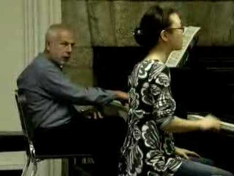 V.Feltsman`s Master class: working on Bach