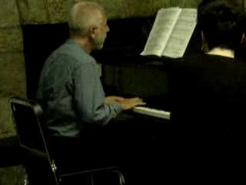 V.Feltsman`s Master class: demonstrating Chopin Sonata #3