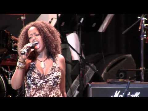 "Jennifer Leigh Warren sings ""Easy To Be Hard"" at the Greek Theater"