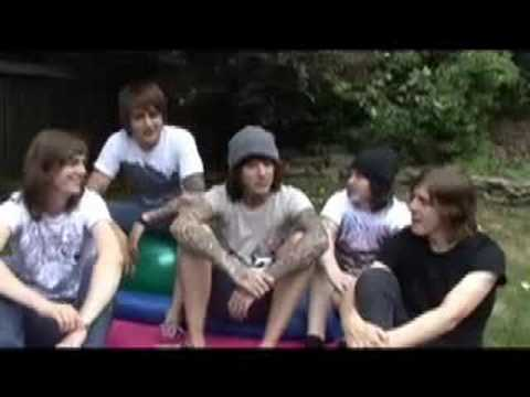 Bring Me The Horizon interview Vans Warped Tour 2008