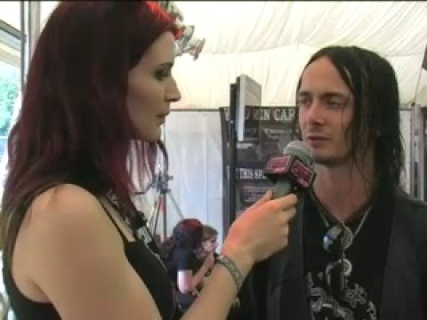 Watain interview at Wacken 2008