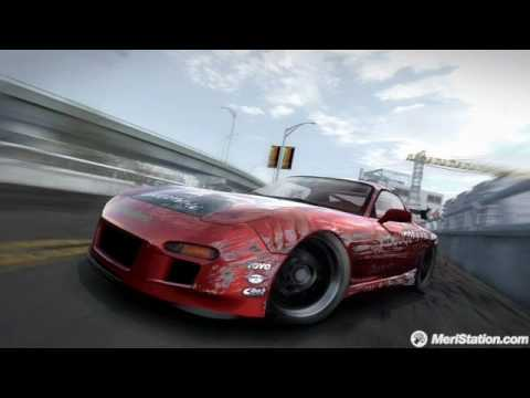 Need For Speed Pro Street - We are Wolves - Fight and Kiss