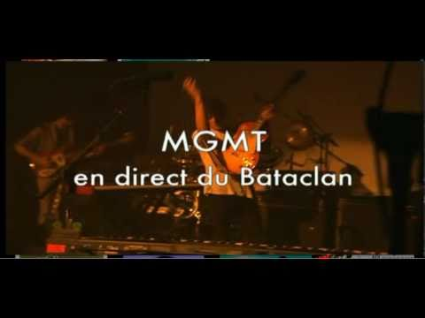 Live MGMT, WEEKEND WARS - Paris, Bataclan le 8/10/2010