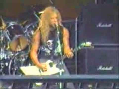 Welcome Home (Sanitarium) live 1986