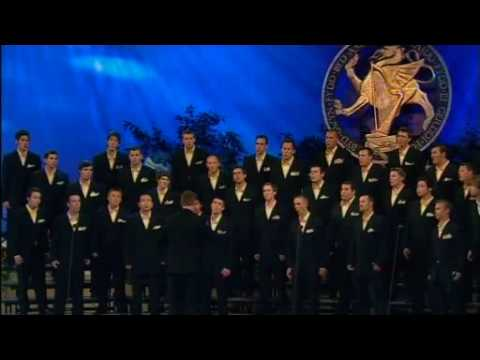 Westminster Chorus - Men`s Choir Set - Choir of the World 2009