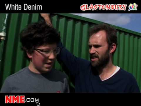 NME Video: White Denim at Glastonbury 2008