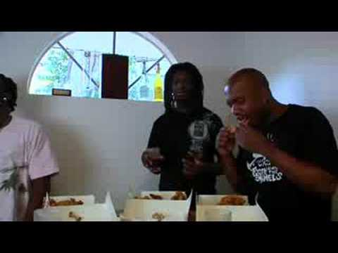 Whole Wheat Bread`s fried chicken eating competition
