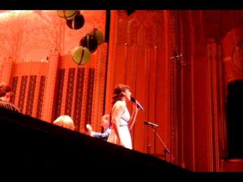 Stephanie J. Block singing Cabaret - video