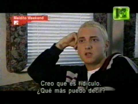 Eminem The Real Slim Shady Making the Video part1