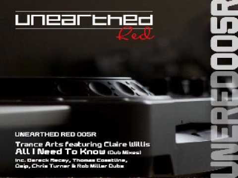 Trance Arts ft. Claire Willis - All I Need To Know (Chris Turner Dub) [Unearthed Red]
