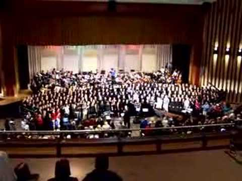 North Penn High School 2006 Winter Concert Hallelujah Chorus