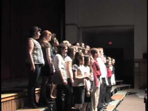 WHS and Gibbons Middle School Winter Vocal Pops Concert
