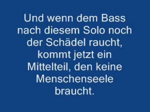Wise Guys - Dieses Lied
