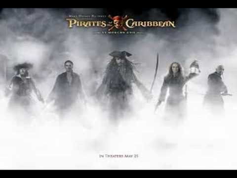 pirates of the caribbean AWE - at wits end played backwords