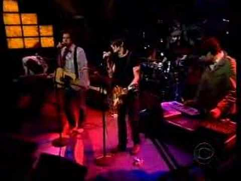Wolf Parade on Late Late Show